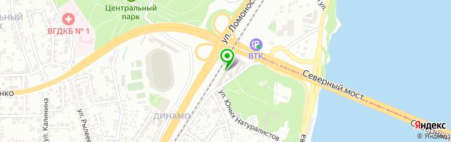 Автотехцентр AUTOritet — схема проезда на карте