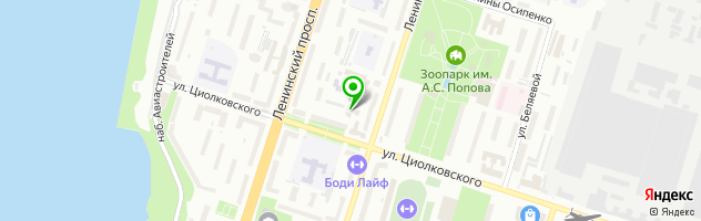 Автомастерская As Concept — схема проезда на карте