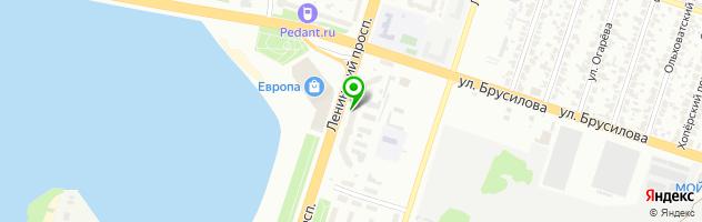 Медицинский центр Пересвет — схема проезда на карте