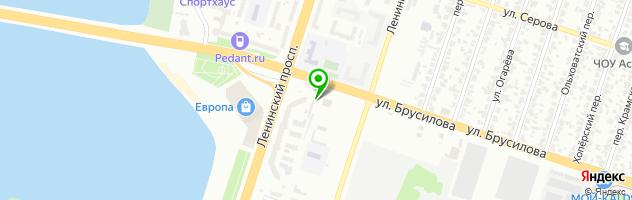 Ветеринарная клиника Лидер — схема проезда на карте