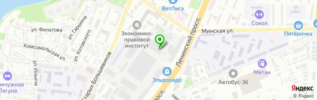Автотехцентр Карабус — схема проезда на карте