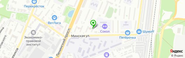 Ремонтная мастерская БытРемТех — схема проезда на карте
