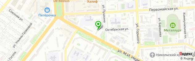 Медицинский центр Ситилаб — схема проезда на карте