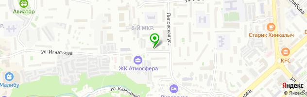 Медицинская клиника Славити — схема проезда на карте