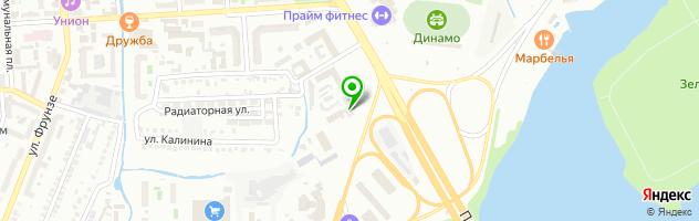 Медицинский комплекс — схема проезда на карте