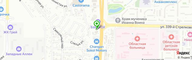 Гостинично-ресторанный комплекс Седьмое Небо — схема проезда на карте
