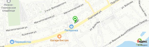 Центр печати Графика — схема проезда на карте