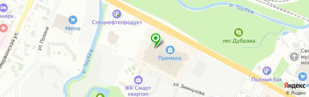 """Часовая мастерская """"Иван Брагин"""" — схема проезда на карте"""