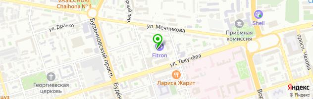 SPA-салон Арт Хаус Спа — схема проезда на карте