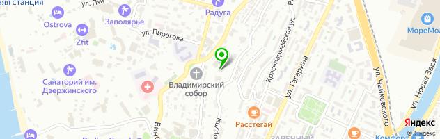 Спортивно-оздоровительный центр ЭН-ДЭН — схема проезда на карте