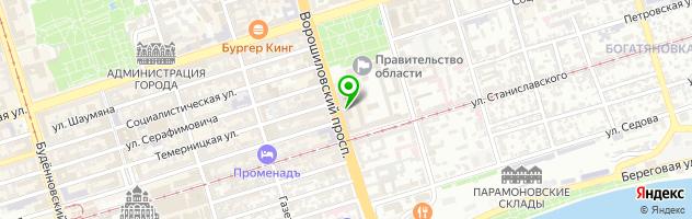 Ломбард GUDDA (Новое имя Ломбарда Аурум) — схема проезда на карте