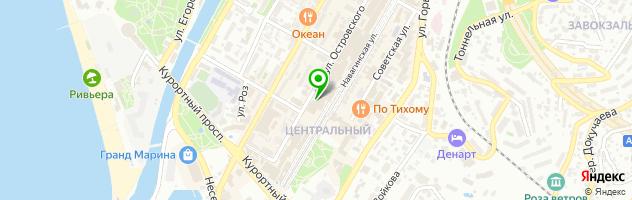 YUPRODUCTION — схема проезда на карте