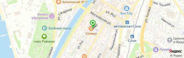 Салон красоты My beauty cafe — схема проезда на карте