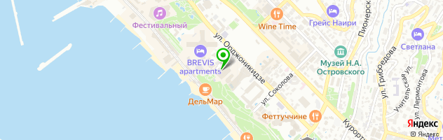Студия красоты и здоровья Парк-Отель — схема проезда на карте
