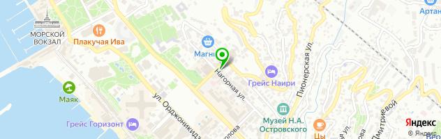Стоматологический кабинет Доктор Бекетов — схема проезда на карте