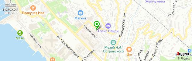 Оздоровительный центр Фомальгаут — схема проезда на карте