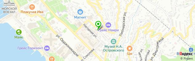 Стоматологическая клиника Преображение — схема проезда на карте