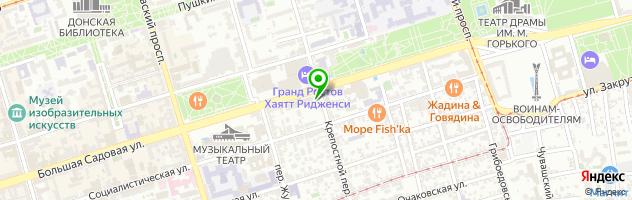 Кафе-пекарня Пироги Кучкова — схема проезда на карте