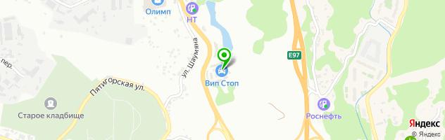 """Центр бесплатной замены """"У Виталия"""" — схема проезда на карте"""