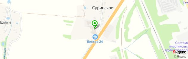 ДокКлимат — схема проезда на карте