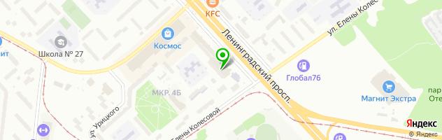 Ресторан- трактир Купец — схема проезда на карте