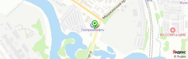 Автотехцентр Маслов — схема проезда на карте