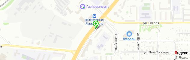 Салон красоты На Московском — схема проезда на карте