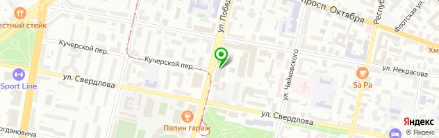 Стоматологический центр Подмосковье — схема проезда на карте