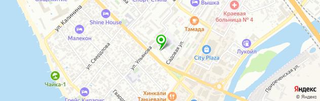 Парикмахерская Prana — схема проезда на карте