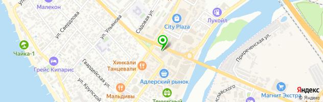 Парикмахерский салон «Магма» — схема проезда на карте