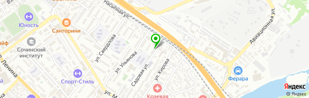 Медицинский центр Инсайд — схема проезда на карте