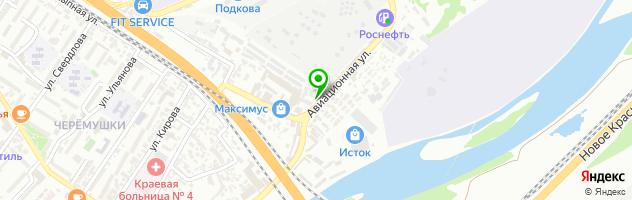 Магазин автозапчастей АлвикАвто — схема проезда на карте