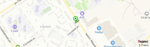 Медицинский центр Сакура — схема проезда на карте