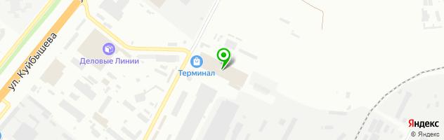 Группа компаний Интерьер — схема проезда на карте