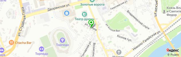 Гостинично-ресторанный комплекс Мономах — схема проезда на карте