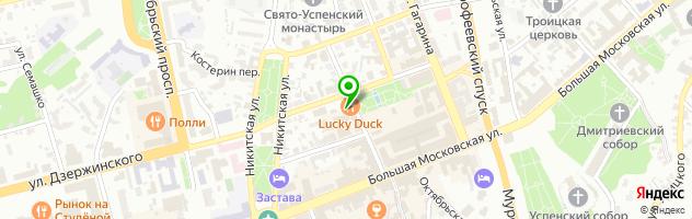 Рекламное агентство КИТ студия — схема проезда на карте
