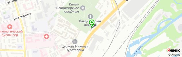 КожаМехСервис — схема проезда на карте