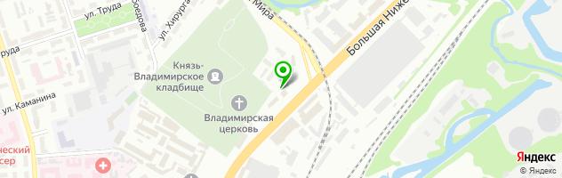 МЕДЭКСПЕРТ — схема проезда на карте