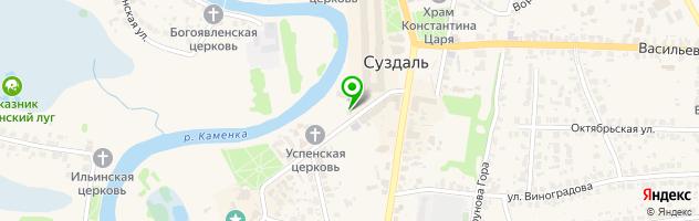 Кафе-бар Славянский — схема проезда на карте