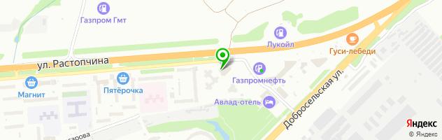 Гостиничный комплекс Князь Владимир — схема проезда на карте