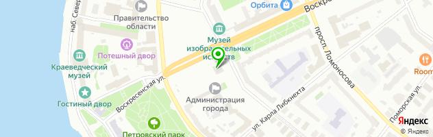 Торгово-сервисная компания Пользователь-ПК — схема проезда на карте