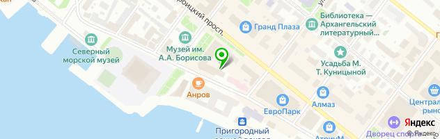 Ева кейтеринг — схема проезда на карте