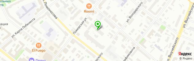 Салон-магазин Лилу — схема проезда на карте