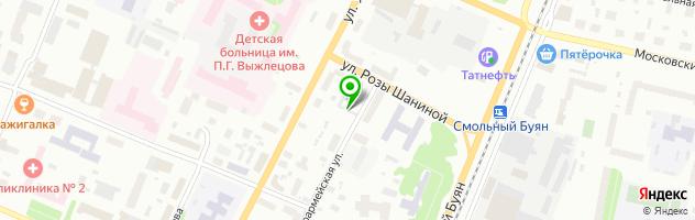 Автосервис Аркуда — схема проезда на карте