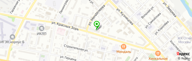 Торгово-сервисная компания Aspect Group — схема проезда на карте