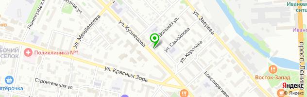 Многопрофильная компания Print4ever — схема проезда на карте