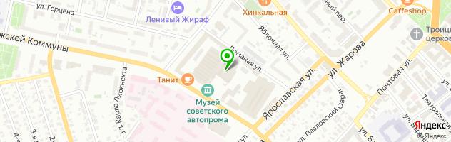 """Ресторан-пивоварня """"Риатовский Пивовар"""" — схема проезда на карте"""