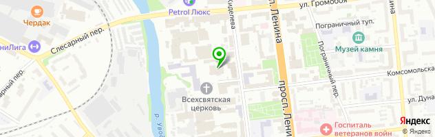 Типография Принт Эксперт — схема проезда на карте