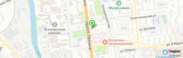 VR POINT — схема проезда на карте