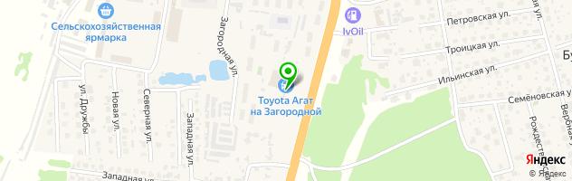 Автокомплекс Тойота Центр Иваново — схема проезда на карте